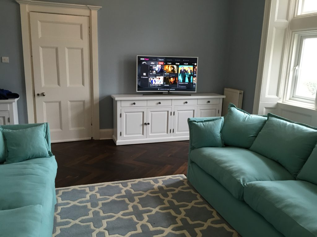 simple living space Audio Visual and Home Cinema