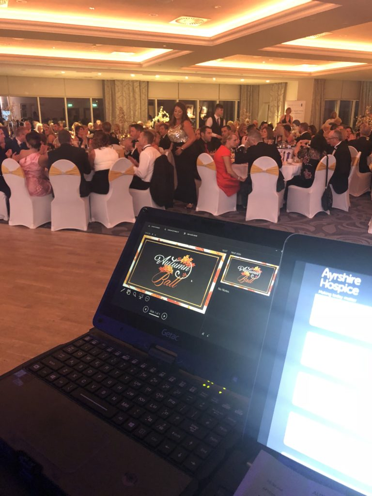hospice ball at the hydro auction