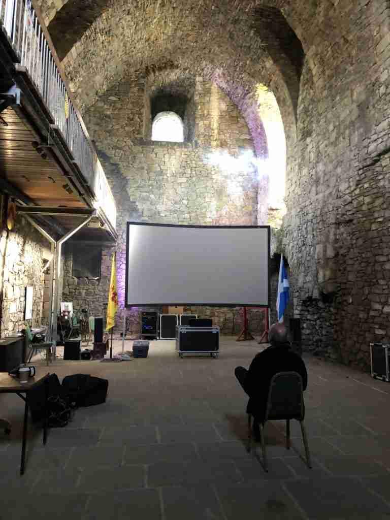 dundonald castle the cinema