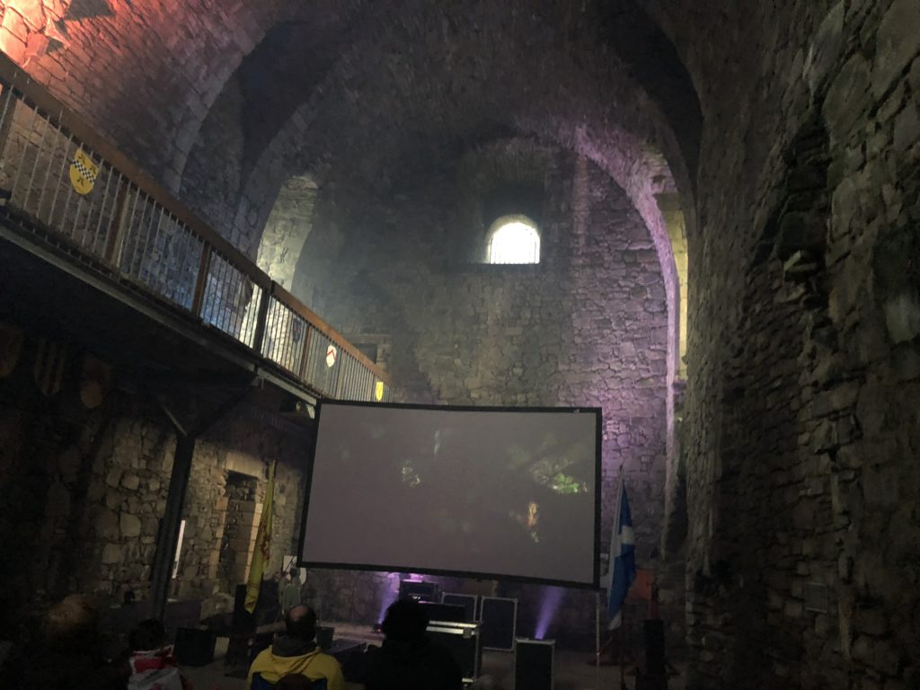 dundonald castle the atmosphere