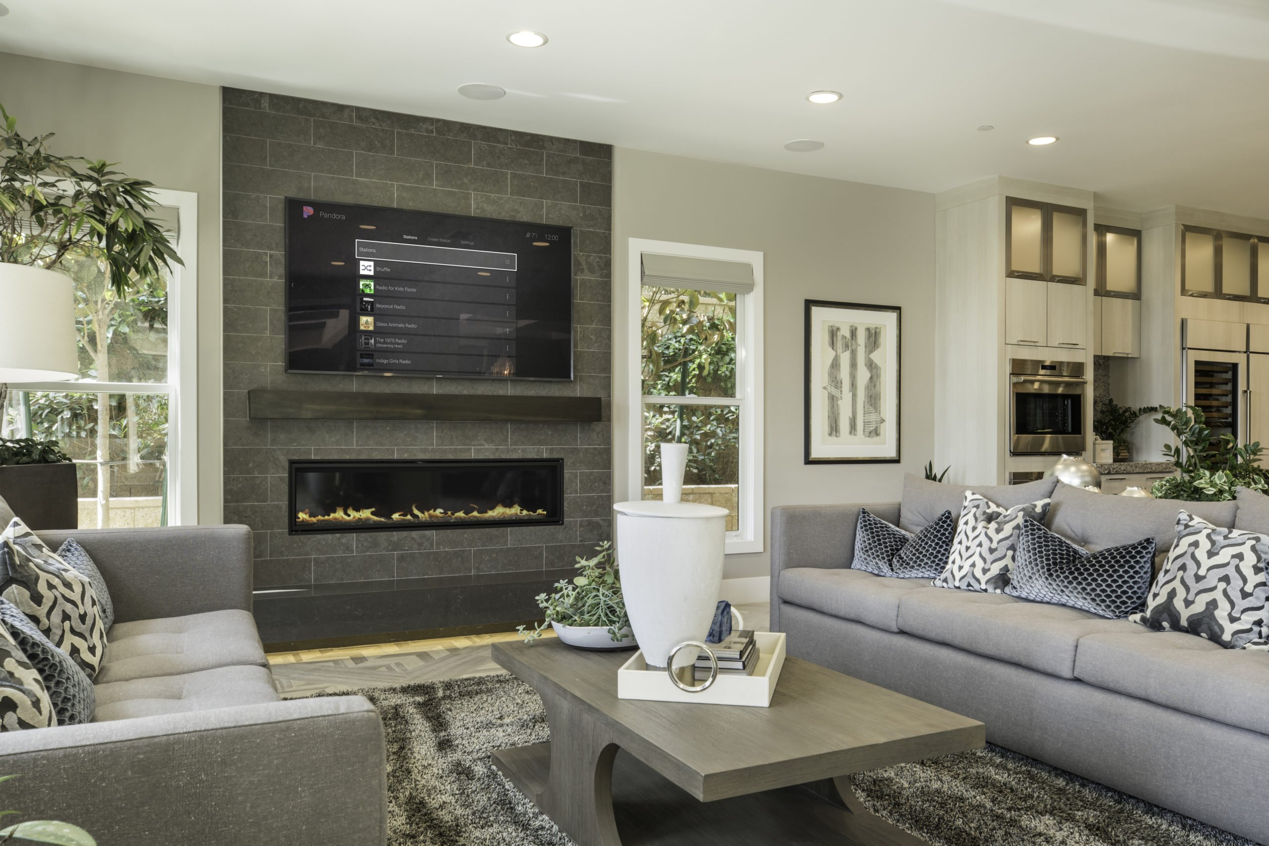 control4 living room